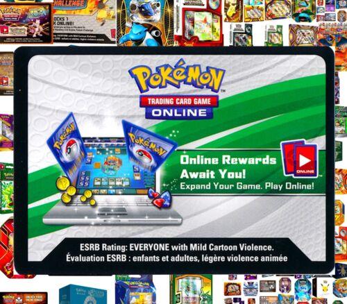 DECK Online Code Cards ~ RAPID TCG Email Codes TCGO Pokemon THEME DECK TIN