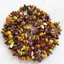 J0045879 5-10mm Mookaite Gem Chip Nugget Freeform Gemstone Loose Bead 34inch