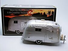 MOTOR CITY 1/18 Airstream Caravane / Camper - No Logo 88101 / 12371