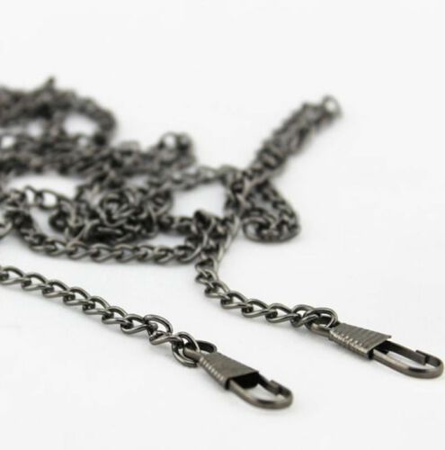 40 ~ 200 CM Smooth Metal Chain for Handbag purse or Shoulder strap bag #G