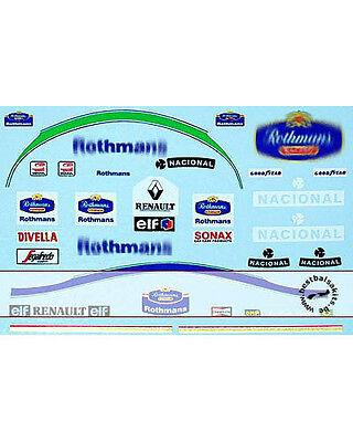1/18 DECAL HELMET FIGURE AYRTON SENNA TEAM WILLIAMS 94