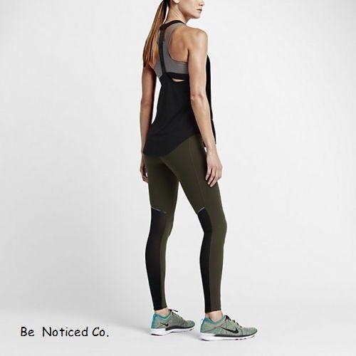 Gym Modellare Xs Casual Donna Nike Palestra Nera Nuovo Training Verde Calze Cool 6CUA8wxaq