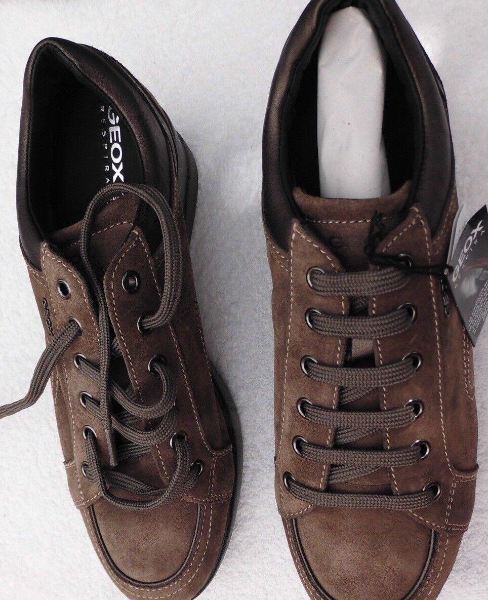 scelte con prezzo basso Scarpe-Scarpe Scarpe-Scarpe Scarpe-Scarpe Geox tg. 41 pelle scamosciata-Marrone-Merce Nuova  risposte rapide