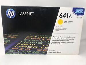 HP C9722A  Yellow NEW Genuine Toner Cartridge SEALED