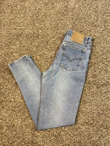Womens 90s Vintage Made In USA Levis 512 Slim Fit