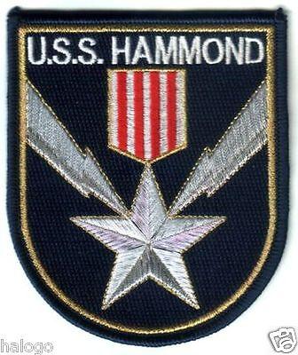 STARGATE HAMMOND UNIFORM PATCH HAMMOND