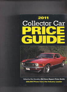 Classic Car Price Guide >> Details About 2011 Collector Car Price Guide 250 000 Prices Old Cars Report 762 Pages