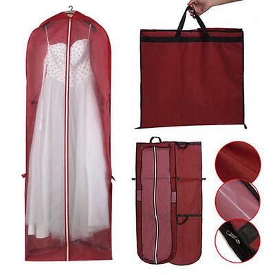 Kleidersack 180 Cm Schutzhülle Anzugtasche Für Brautkleider Anzug Abendkleid ZuverläSsige Leistung