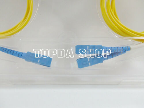 1PC 1x2 1310//1550nm WDM LC//UPC slender 1m Boxed 1X2WDM Multiplexer#SS