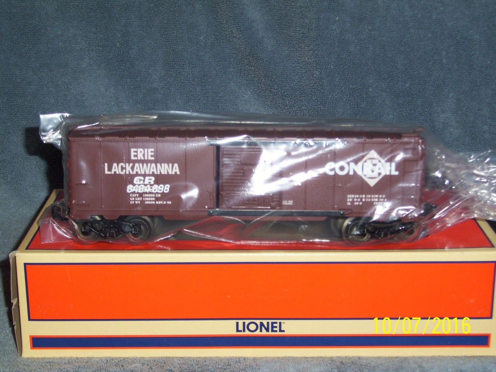 LIONEL 629234 ERIE LACKAWANNA CONRAIL OVERSTAMPED 6464 scatolaauto