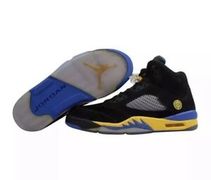 b11d655ff6df0e NEW Nike Air Jordan Retro V 5 Shanghai Shen sz 9 136027-089 Black ...