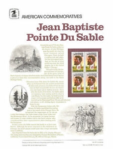 277-22c-Jean-Baptiste-Du-Sable-2249-USPS-Commemorative-Stamp-Panel