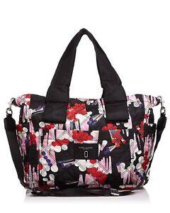 6930d4e4ef3d Marc Jacobs Women s Geo Spot Printed Knot Diaper Bag ‑ Black Multi ...