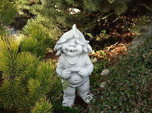 Grand-massive-Gnome-034-Ich-mag-mich-034-Troll-Kobold-en-Pierre-fonte-resistant-au-gel