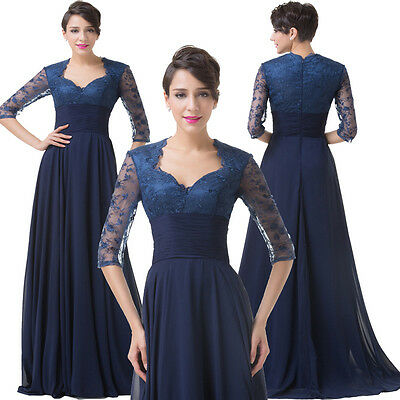 HOT SALE New Long Prom Gown Evening Formal Wedding Party Cocktail Prom Dresses