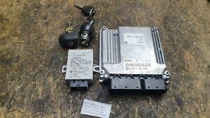#063 BMW E46 320D Motorsteuergerät M47TU M47N Steuergerät EWS Schlüssel 7793443