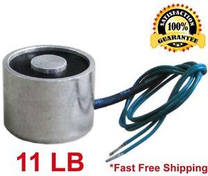 5kg Electric Lifting Magnet Electromagnet Solenoid Lift Holding 12V DC 11 LB
