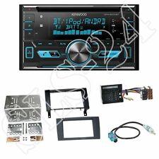 Kenwood DPX5000BT CD Radio + Mercedes SLK(R171) 2-DIN Blende schwarz+ISO-Adapter