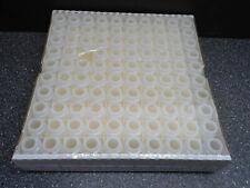 20ml Disposable Scintillation White Plastic Vials No Caps 99tray