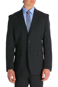 NEW-Van-Heusen-Plain-Suit-Jacket-Charcoal