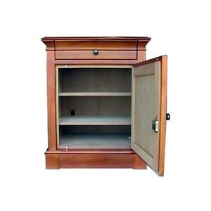 Cigar Humidor 500 Ct End Table Neo Maple Hydra Sm