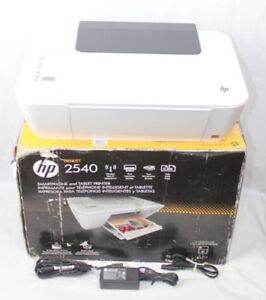 Details about HP Deskjet 2540 Printer Copy Scan All-In-One (G109779-1 R  OO-8) FOR PARTS ONLY