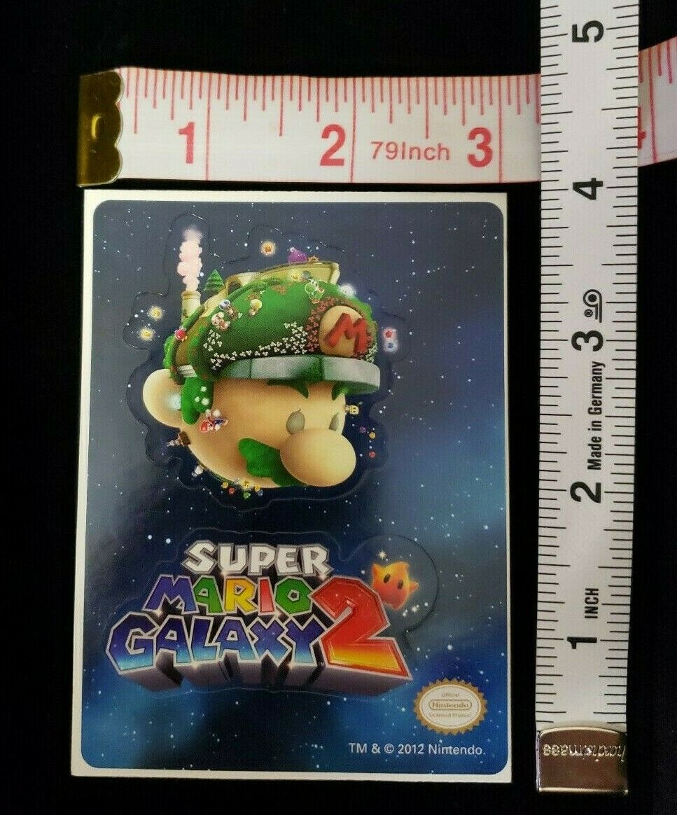 Super Mario Galaxy 2 Sticker About 4