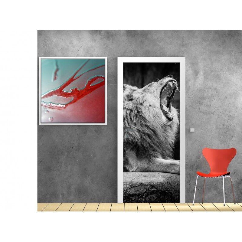 Plakat Plakat Tür Deko Löwe 818 Art Deco Aufkleber