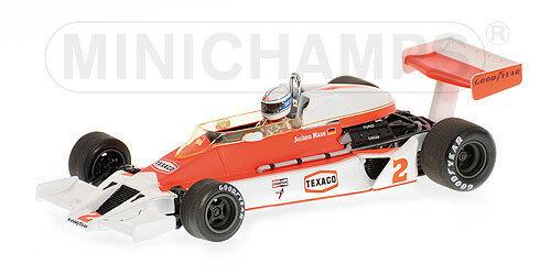 Mclaren Ford M26 J. Mass 1977 Minichamps 1:43 530774302 Modellino