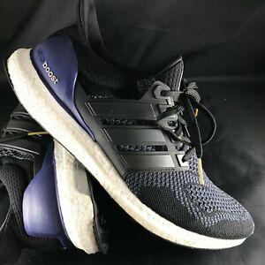 san francisco 5c5e4 e4d97 Details about adidas Ultra Boost M 1.0 OG Core Black Gold Metal Purple  B27171 Men's 11 45 2/3
