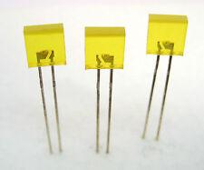 Square Leds Yellow 3lot