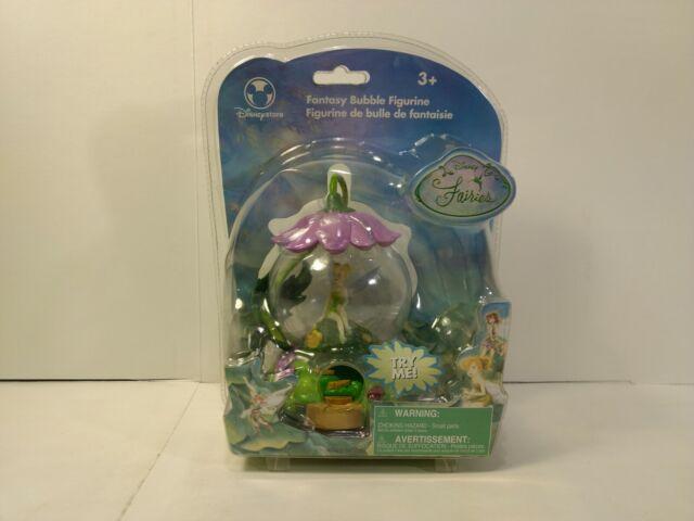 Disney Fairies Tinkerbell Fantasy Bubble Figurine  t3869