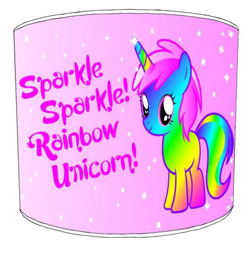 Lampshades Ideal To Match Unicorn Horses Princess Fairies Duvet Unicorn Wall Art