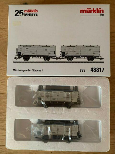 Märklin H0-47870 Spitzdachwagen-Set Neu /& OVP
