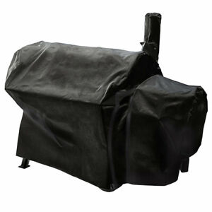 145-85-135cm-Water-Dustproof-Smoker-Cover-for-Char-Broil-Oklahoma-Joe-039-s-Highland