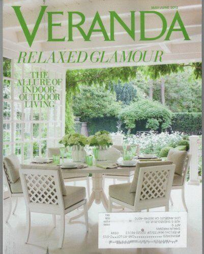 Veranda Magazine (May/June, 2013) [Single Issue Magazine ...