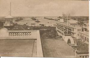 PC40012 Colombo Harbour. Ceylon. John. B. Hopkins