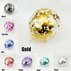 Lot-de-20-confettis-ballons-latex-12-034-decorations-a-L-039-helium-Fete-D-039-anniversaire-Mariage