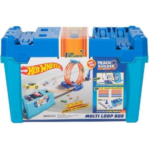 Hot Wheels Track Builder Multi-Loop Box BRAND NEW!!!