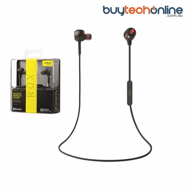 Jabra ROX Wireless Bluetooth Headset Headphones Dolby NFC Digital iPhone Android