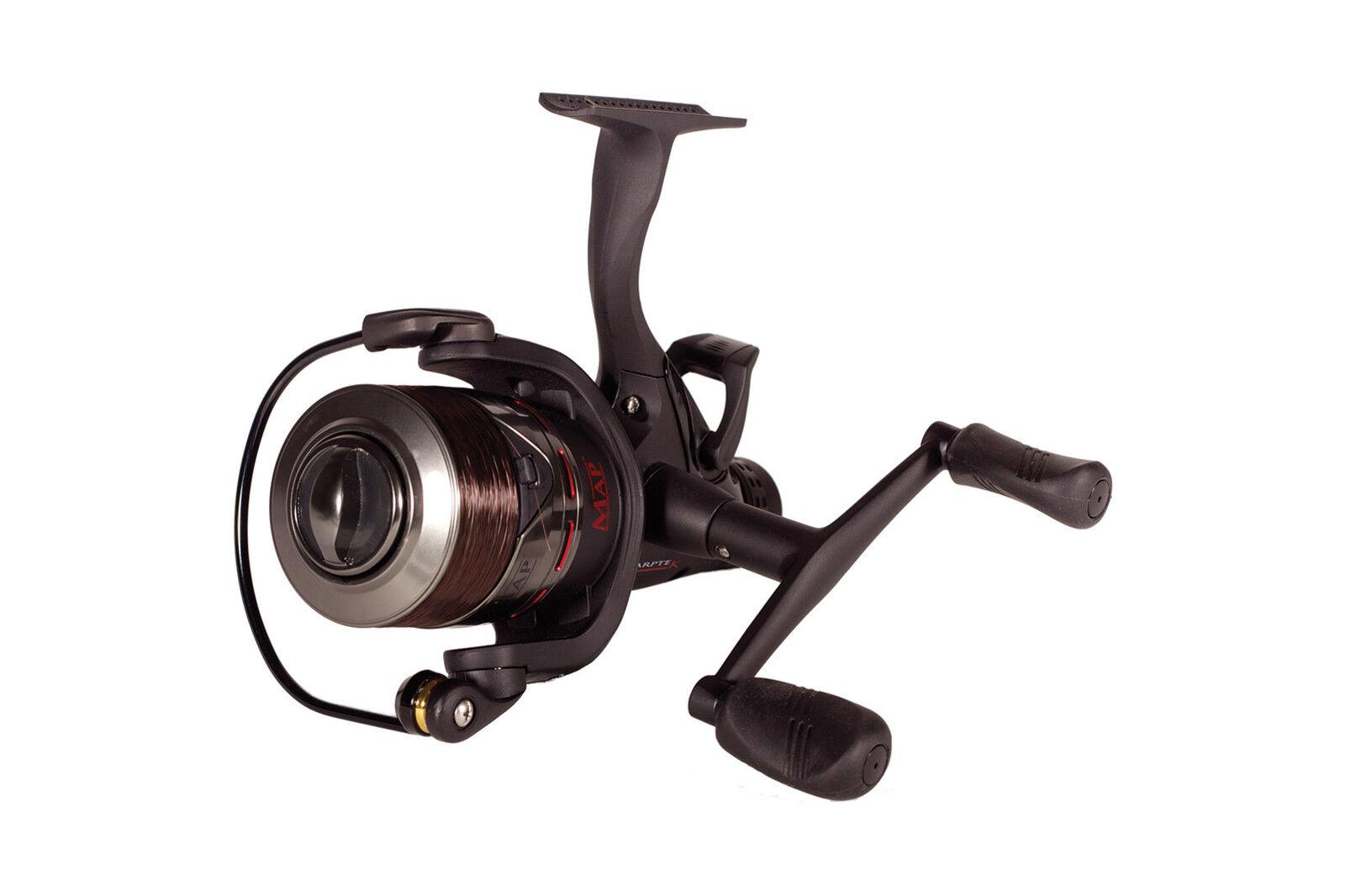 MAP Carptek ACS 4000 4000 4000 FS Reel   Course Carp Fishing   C0905   Leeda 91fa0e