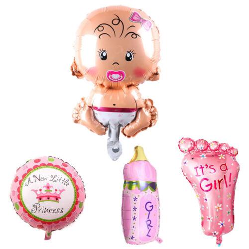 """Baby Shower 16/"""" Letter Balloon Boys//Girls Gender Reveal Party Foil Balloons Set"""