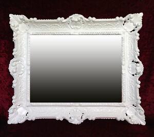 Wall-Mirror-White-Antique-Baroque-Bathroom-Floor-Vanity-56x46-1