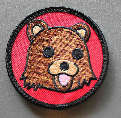 Dope Bear Patch with Hook /& Loop backing