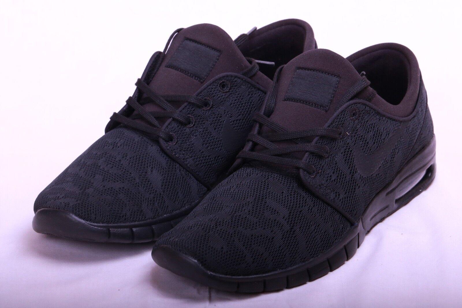 Nike SB Stefan 099 Janoski Max Triple Black Blackout 631303 099 Stefan Size 11.5 b0383d