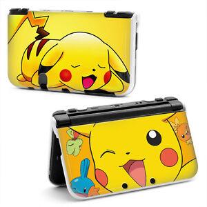 Pokemon pikachu hard case cover for new nintendo 3ds xl for Housse 2ds xl pokemon