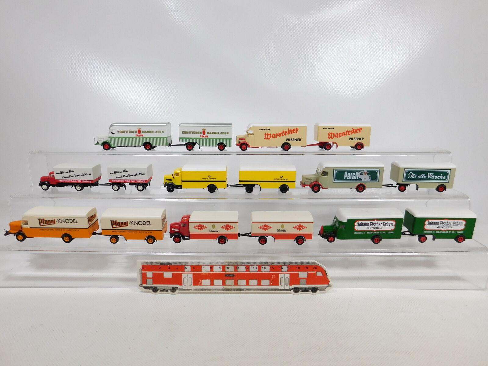 CA596-1  8x Albedo 1 87 H0 Truck  Mercedes MB+ Man + Büssing+ Krupp,Seconds