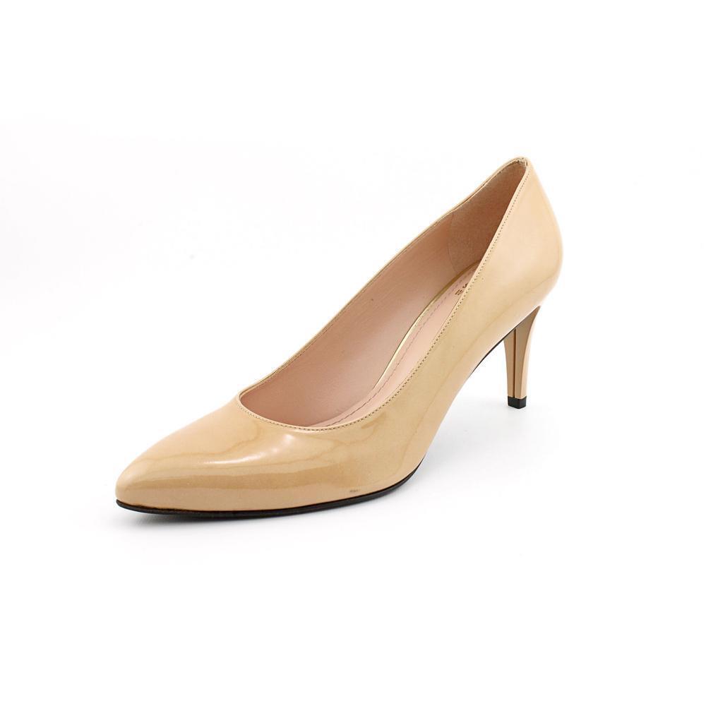 Nuevo Stuart Weitzman para mujeres Zapatos Tacones Beige Charol Clásico Clásico Clásico 40 10  ¡No dudes! ¡Compra ahora!