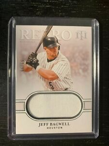 2020 National Treasures Baseball Jeff Bagwell Houston Astros Jersey Patch 99/99
