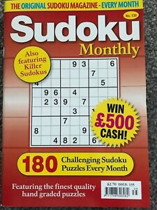 Sudoku-monthly-puzzle-book